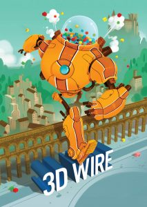 Nuevo cartel 3D Wire 2016 Maroto - Mr. Cohl