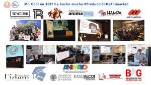 proyectos Mr. Cohl en producción de animación