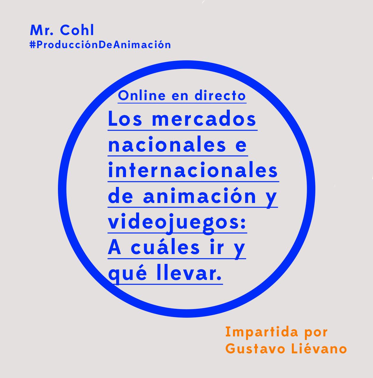 mercados nacionales internacionales animación videojuegos