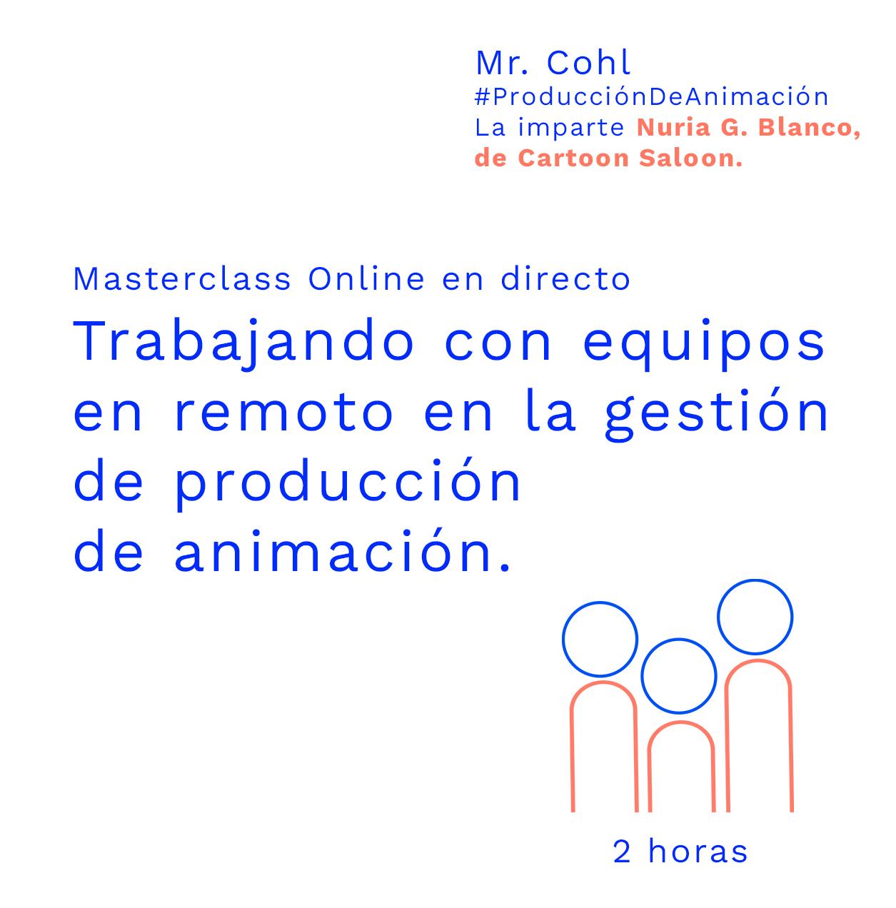 Trabajando con equipos en remoto en la gestión de producción de animación