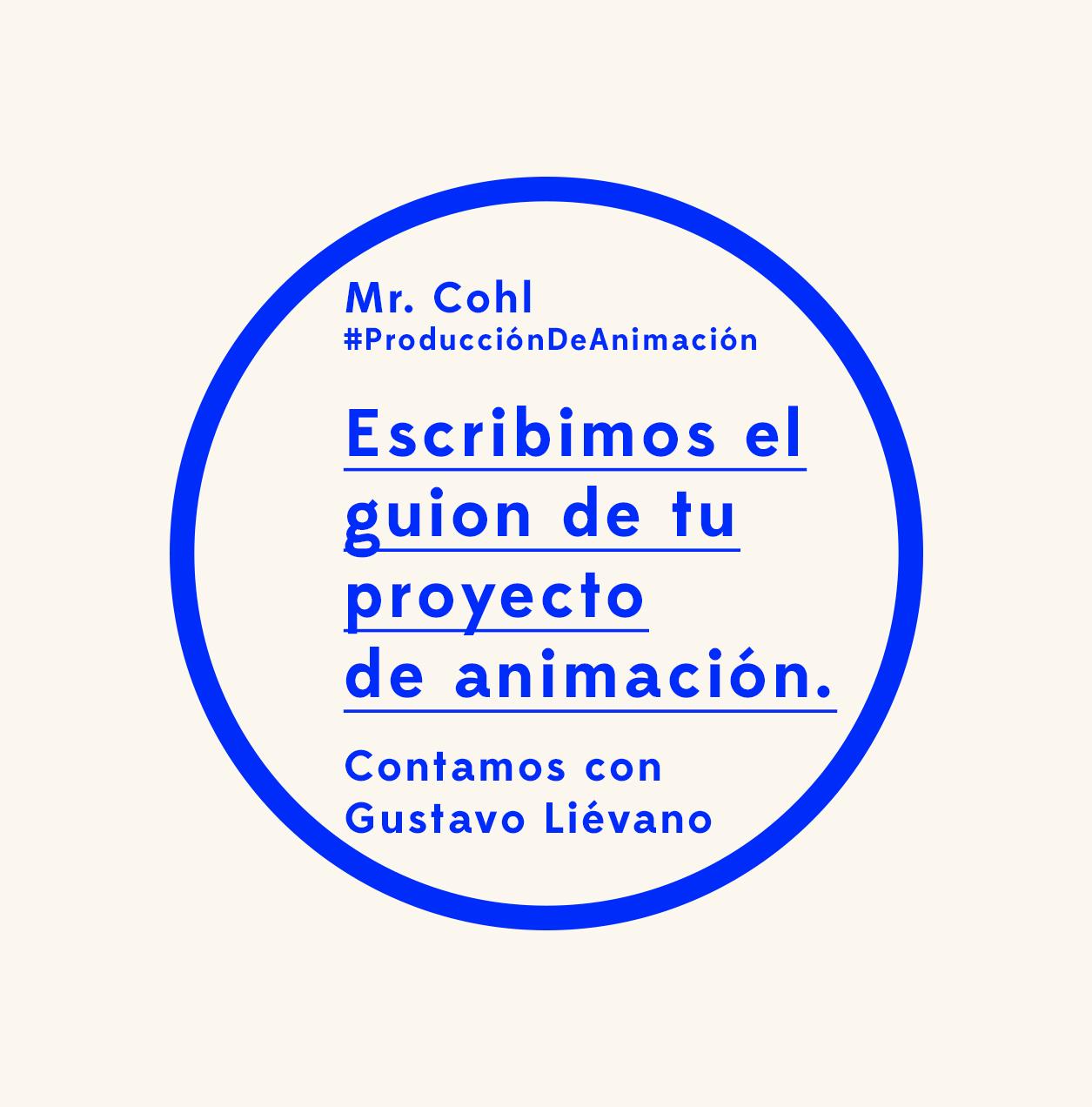 Guionista de cine y series de tv de animación Gustavo Liévano