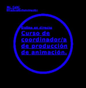 Curso de coordinador de producción de animación